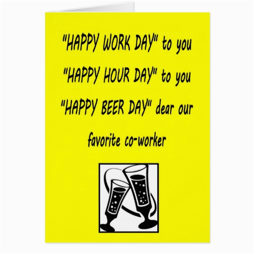 funny co worker birthday quotes