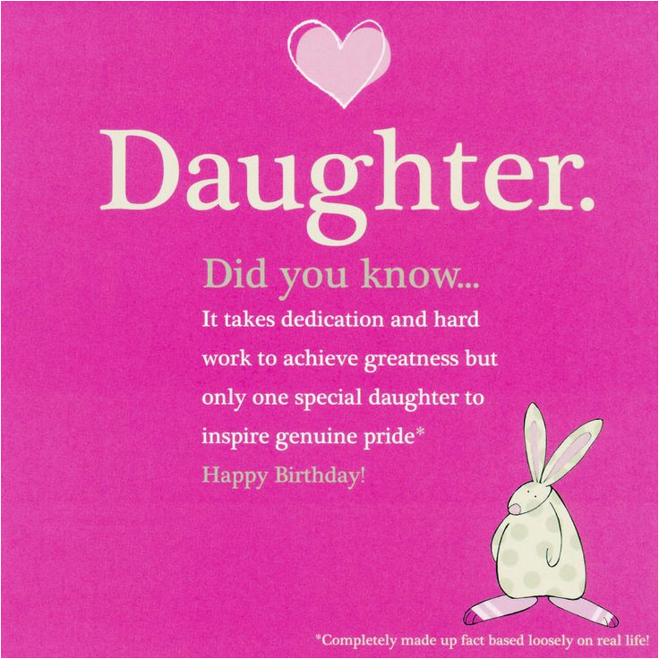Happy Birthday Quotes to A Daughter Quotes From Daughter Happy Birthday Quotesgram
