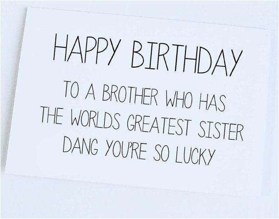happy birthday brother funny