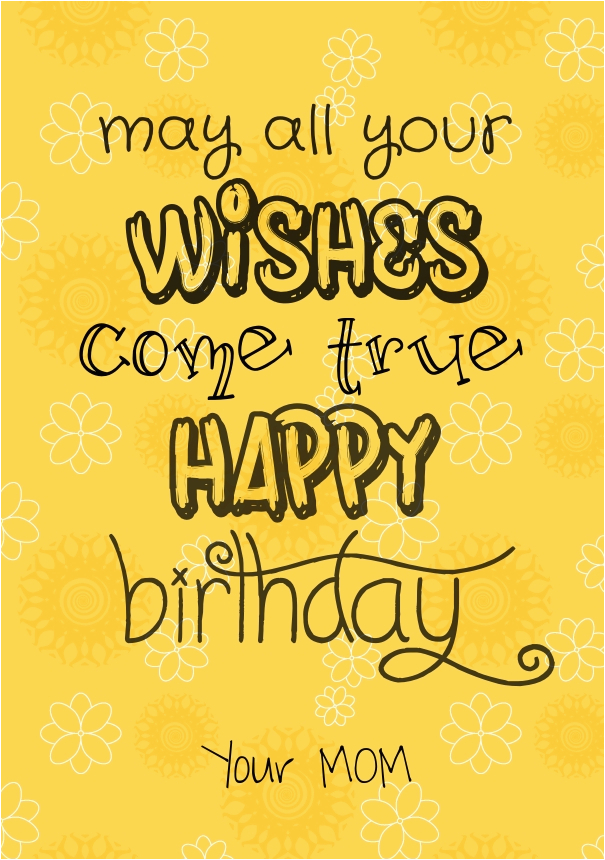 Happy Birthday Quotes to Daughter From Mom Happy Birthday Quotes for Daughter with Images