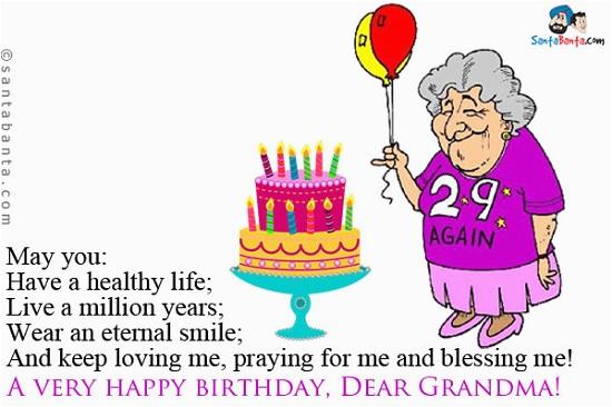 happy birthday grandma