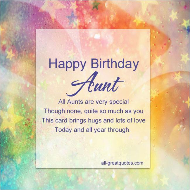 Happy Birthday Quotes to My Aunt Happy Birthday Aunt Quotes Quotesgram