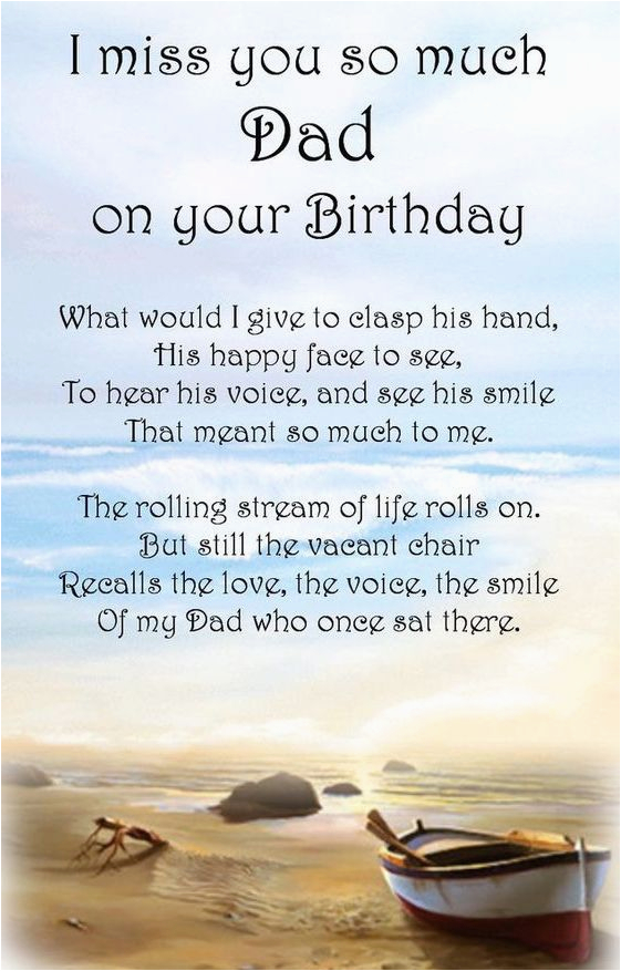 happy birthday dad in heaven quotes poems