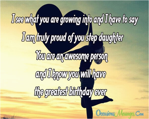 step daughter birthday wishes