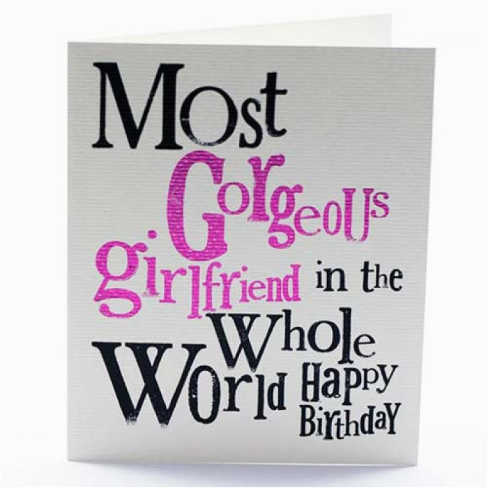 cute birthday quotes for girlfriend