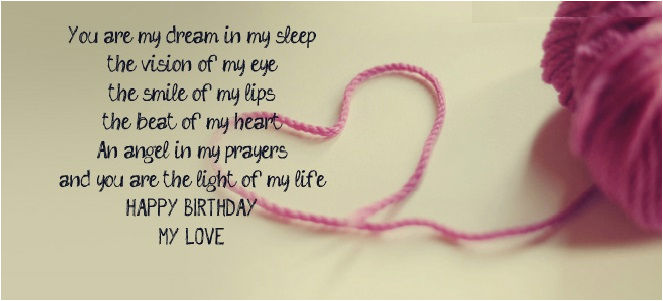 romantic birthday wishes lover