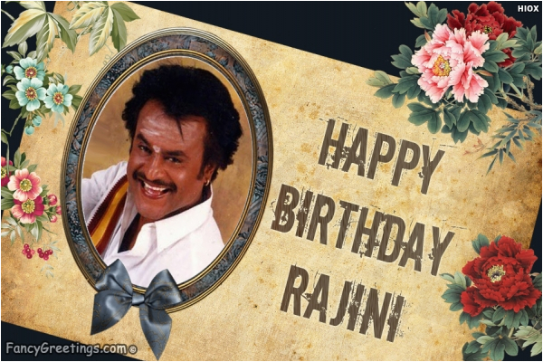 happy birthday rajinikanth