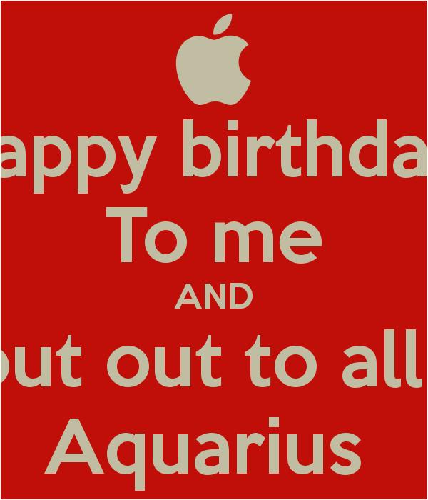 aquarius birthday quotes