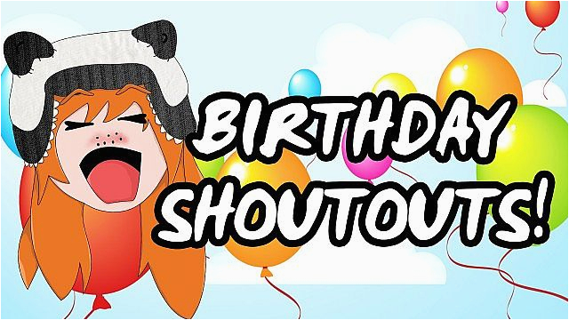 birthday shout out quotes