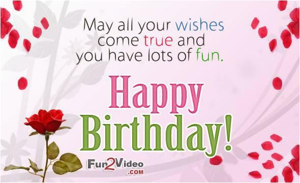 birthday wishes for happy birthday