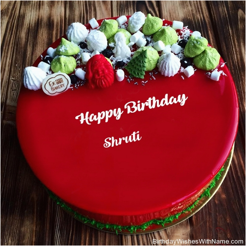 birthday images with name shruti