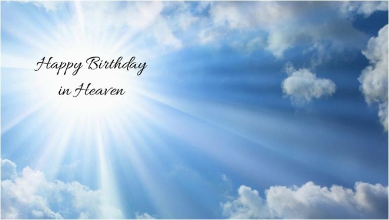 happy birthday in heaven quotes poems