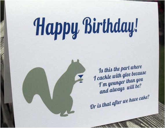 happy birthday funny card friend brother