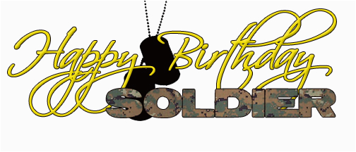 birthday quotes for a soldier