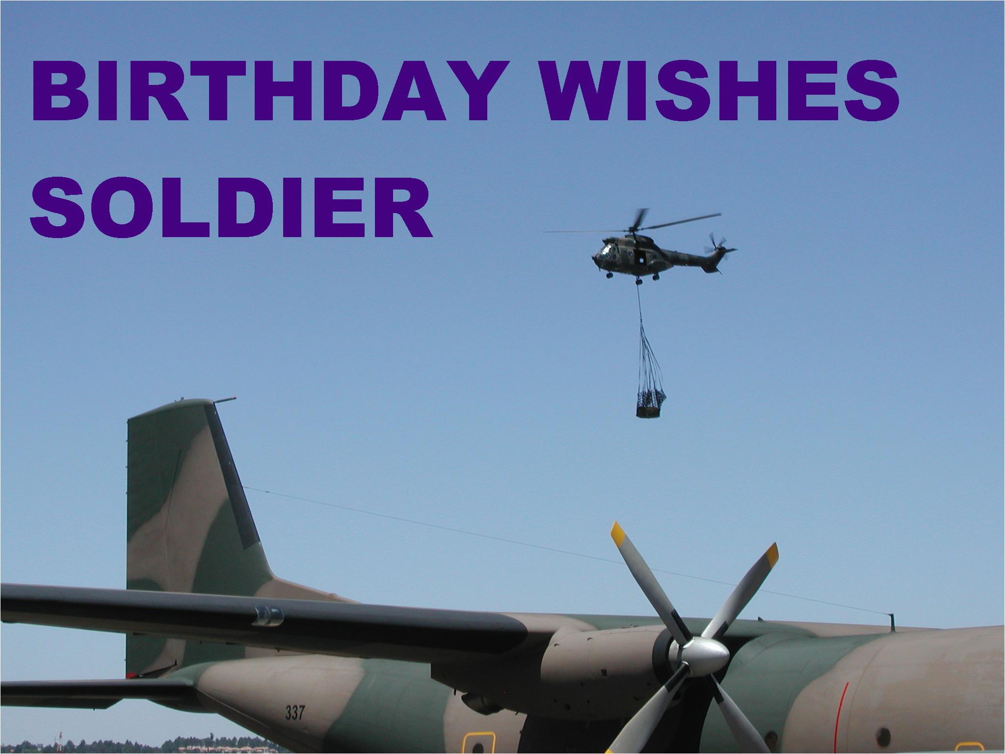 happy birthday soldier quotes
