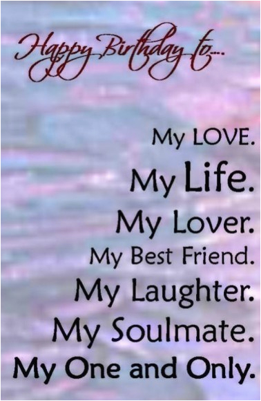 52 mesmerizing birthday love quotes