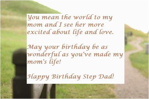 happy birthday step dad