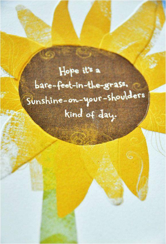 sunshine happy birthday quotes