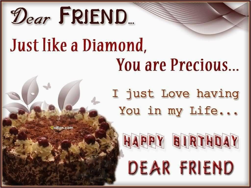dear friend 2c happy birthday