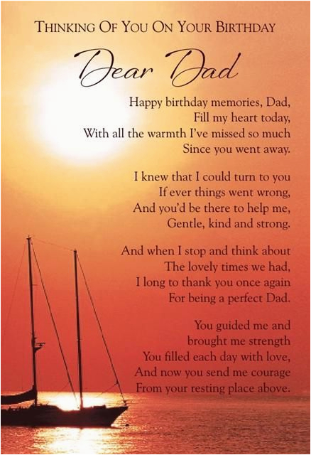 birthday quotes for dads that have passed away