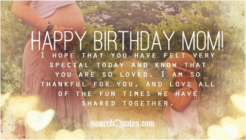 happy birthday quotes for mom who passed away