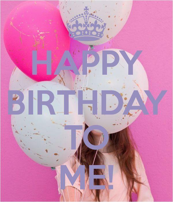 happy birthday to me quote image