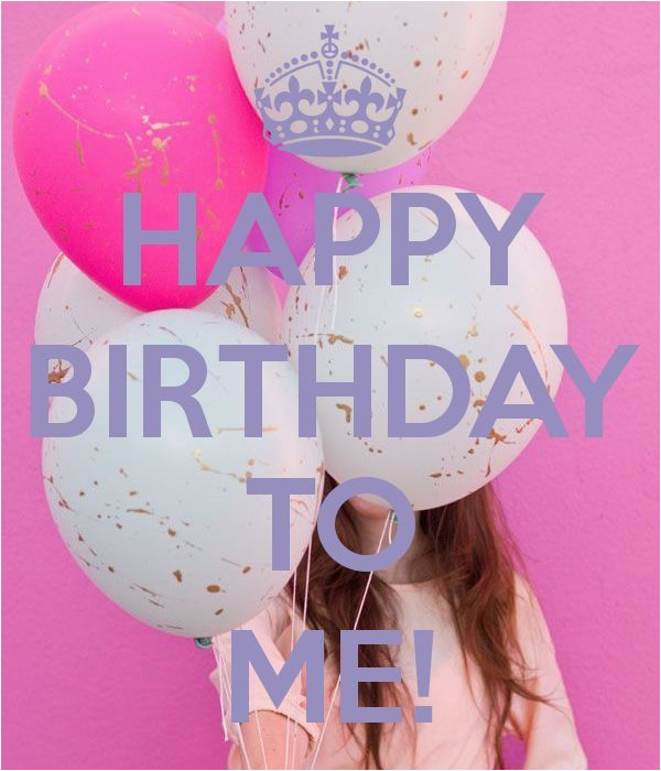 happy birthday to me quote image