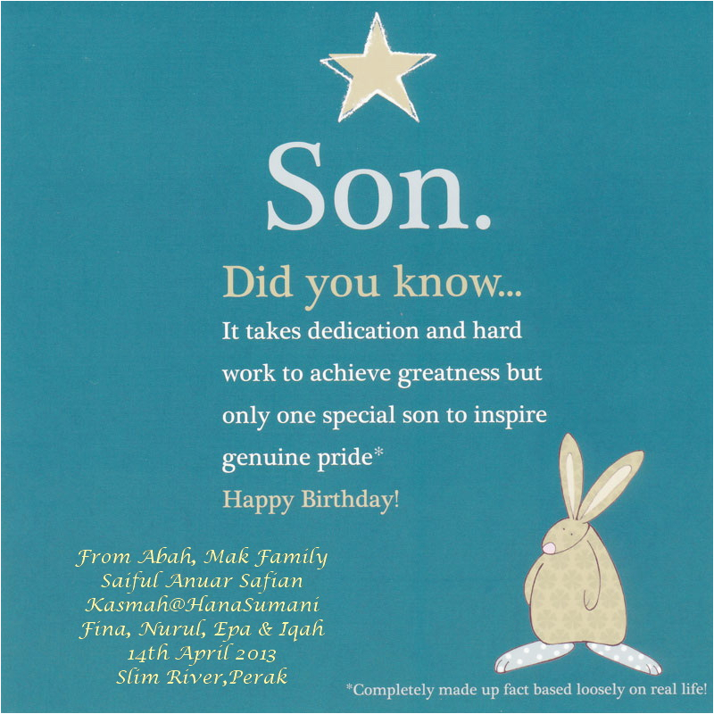 Happy Birthday to My 1 Year Old son Quotes Happy 14th Birthday son Quotes Quotesgram