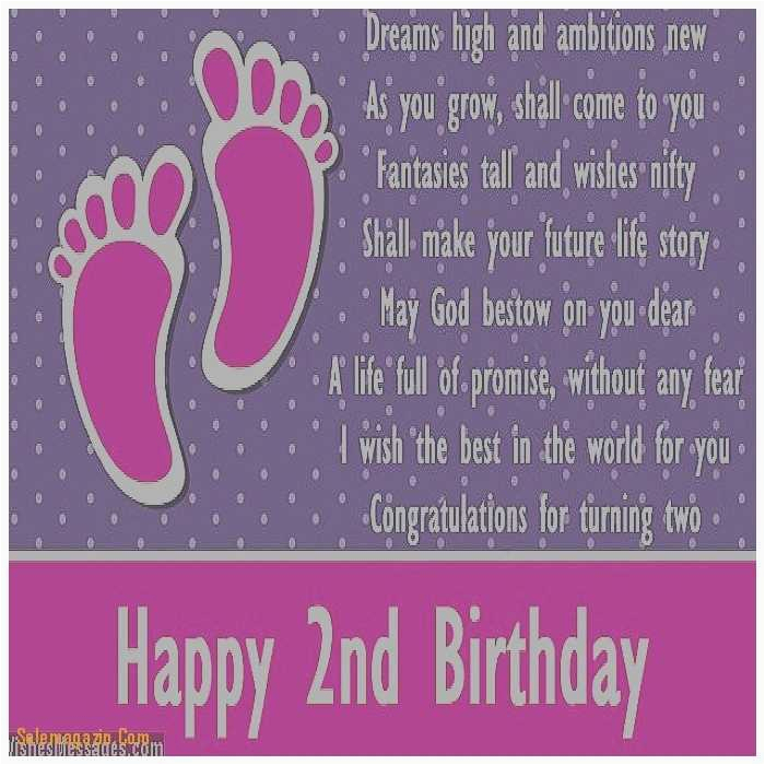 2nd birthday quotes new birthday cards awesome 2 year old birthday card messages