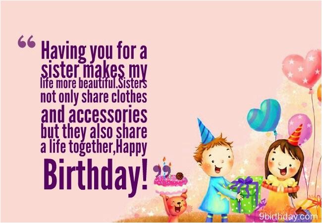 41 wonderful sister birthday wishes