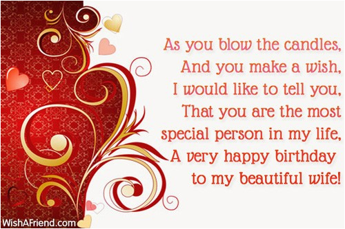 Happy Birthday to My Beautiful Wife Quotes 45 Pretty Wife Birthday Quotes Greetings Wishes Photos