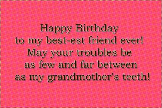 best friend birthday wishes quote