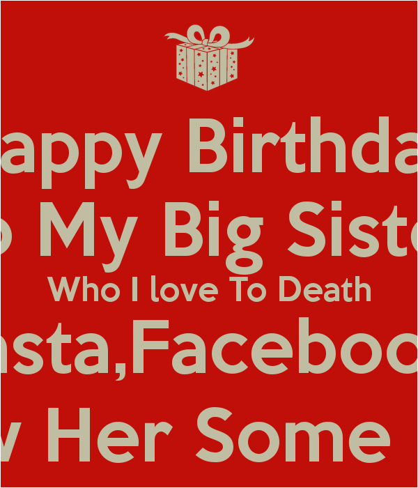 big sister birthday quotes