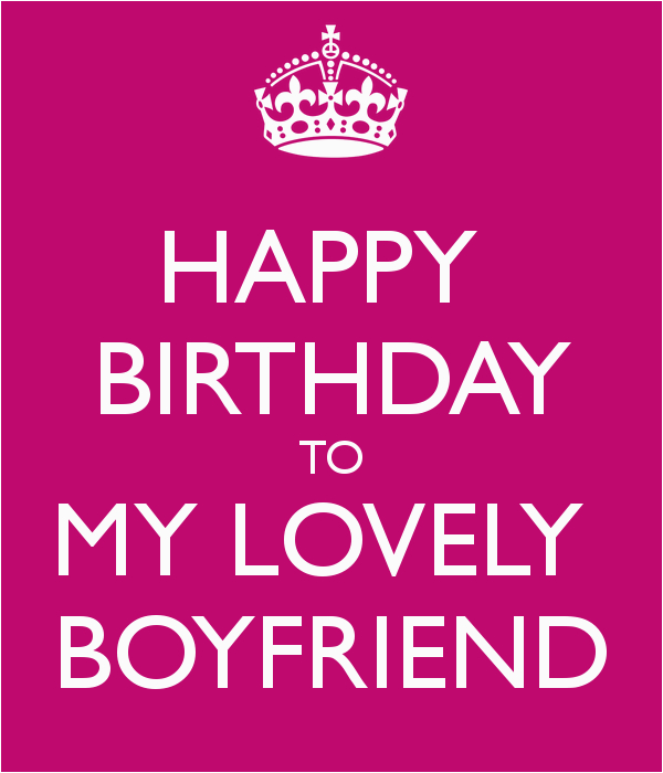 happy birthday to my boyfriend quotes