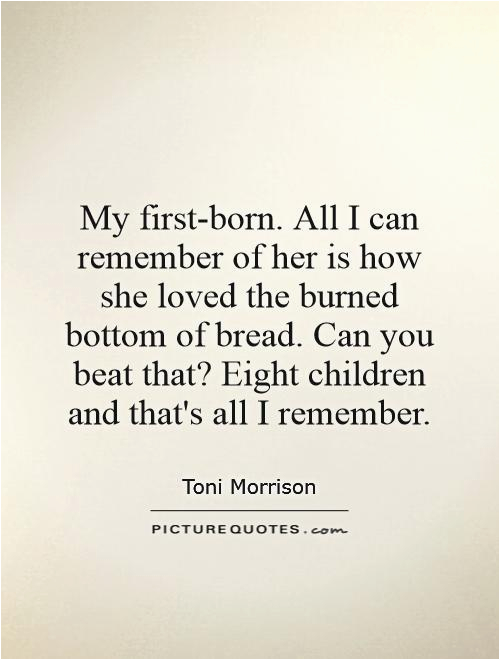 my first born quotes