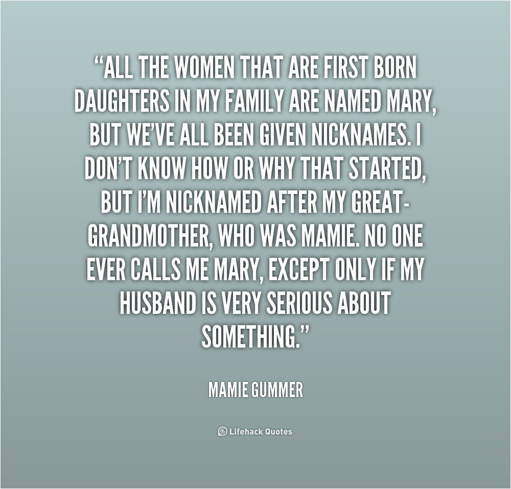 quotes about first born daughter
