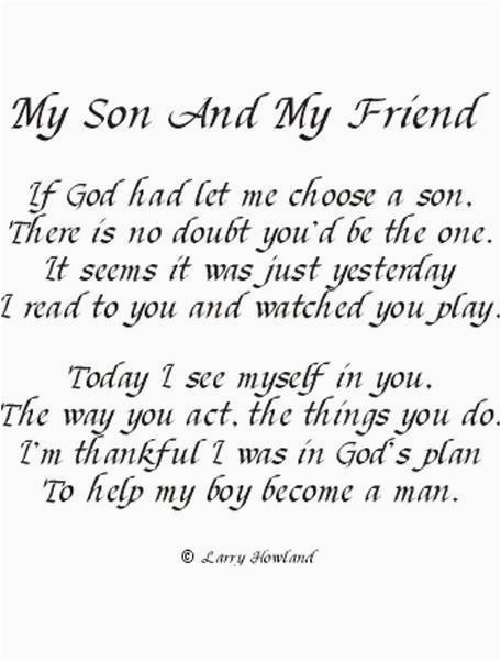for my handsome son