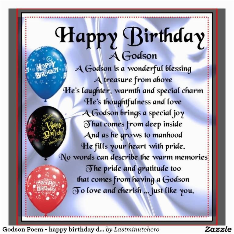 happy birthday wishes for godson