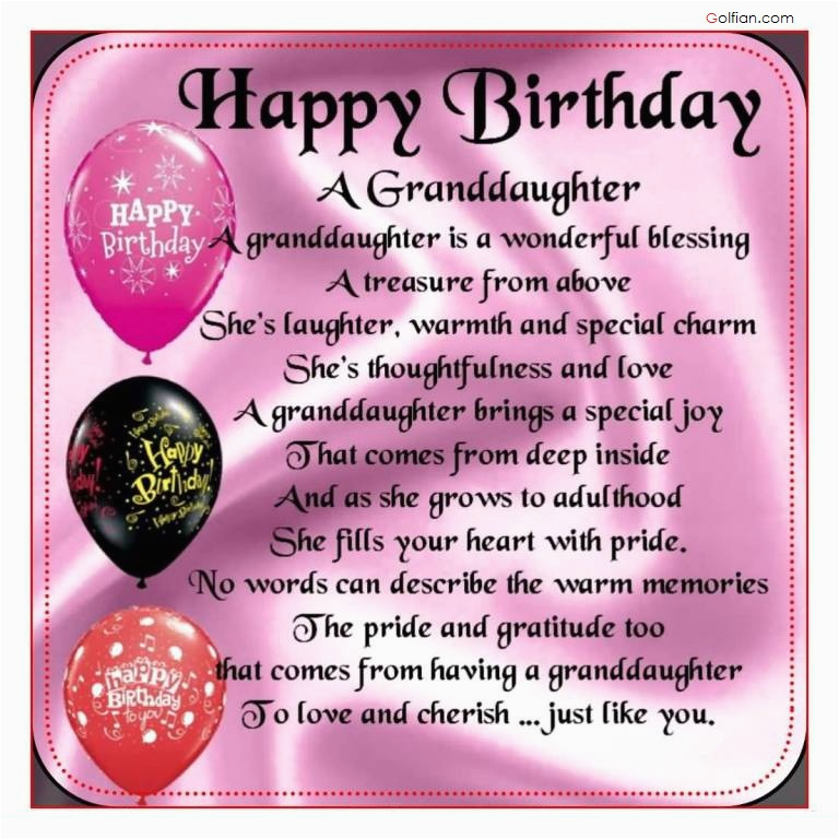 65 popular birthday wishes for granddaughter beautiful birthday messages