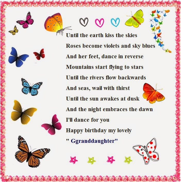 happy birthday granddaughter quotes