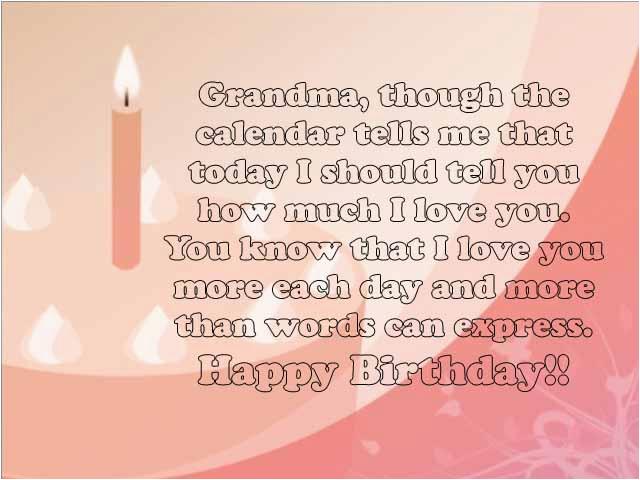Happy Birthday to My Grandma Quotes Sweet 25 Happy Birthday Grandma Wishes and Quotes
