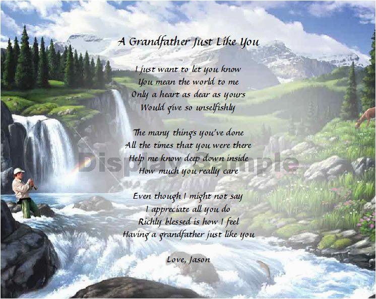 birthday in heaven grandpa quotes