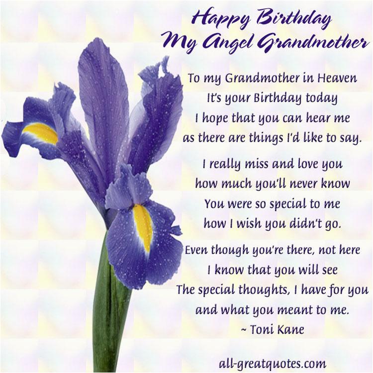 grandma in heaven quotes