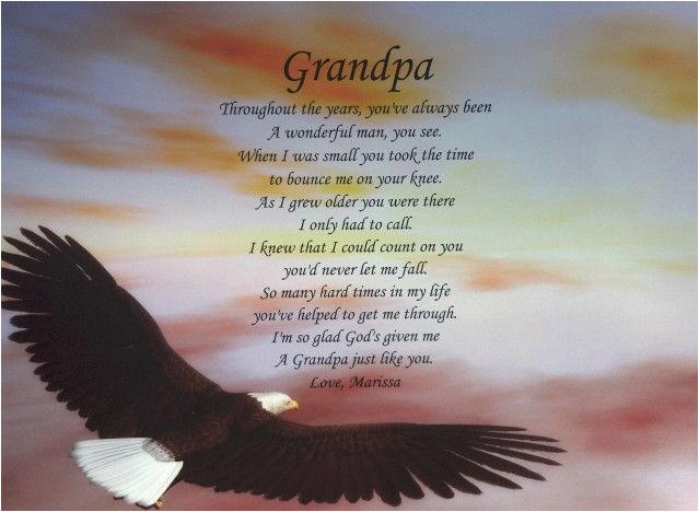 Happy Birthday to My Grandpa In Heaven Quotes Grandparents