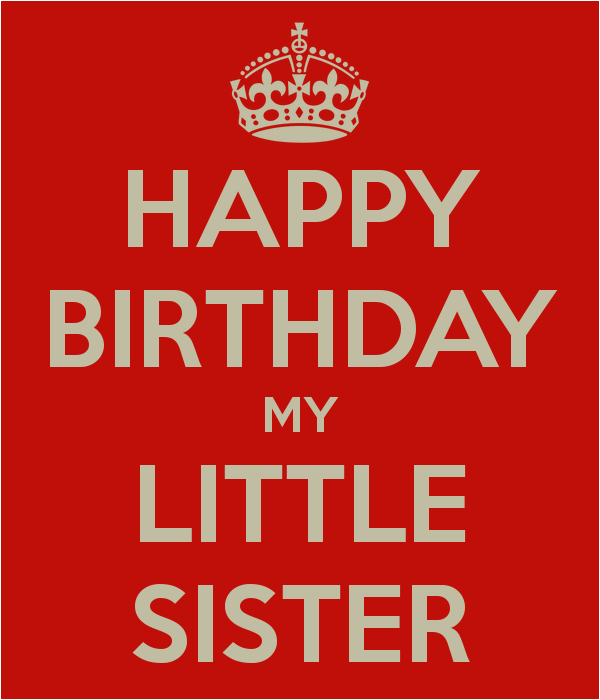 Happy Birthday To My Little Sister Quotes Little Sister Quotes Funny