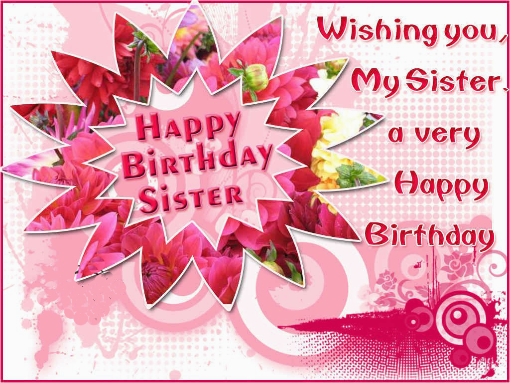 Happy Birthday to My Sister Quotes and Images Best Happy Birthday Quotes for Sister Studentschillout