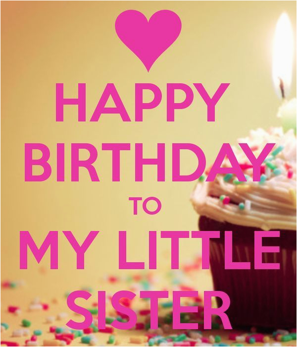 happy birthday to my little sister