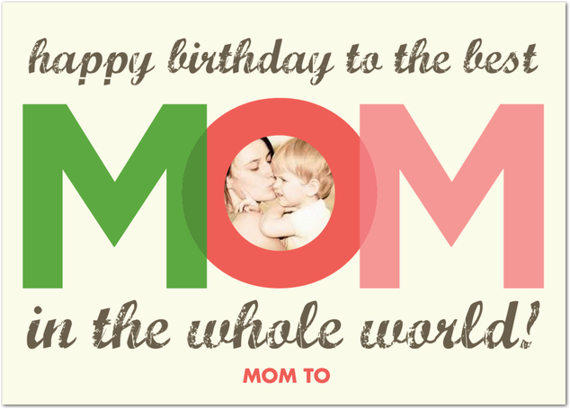 send photo birthday greetings for best mom india