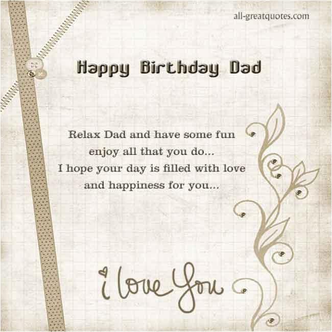 happy birthday deceased dad quotes