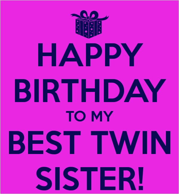 Happy Birthday to Twins Quotes Happy Birthday Twins Quotes Quotesgram